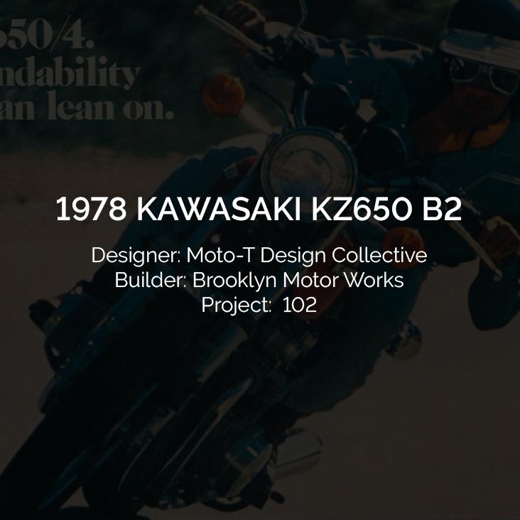 1978 Kawasaki KZ650 B2